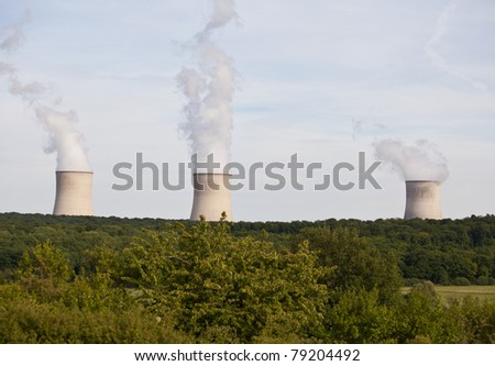 Nuclear Power Plant in the middle of the forest