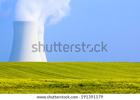 NUCLEAR POWER PLANT PRODUCING ATOMIC ENERGY