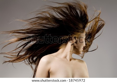 Windy Nude Stock Images Image