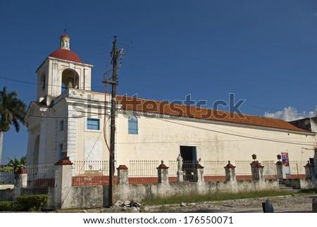 Nuestra Senora de Regla Church, Havana, Cuba - stock photo