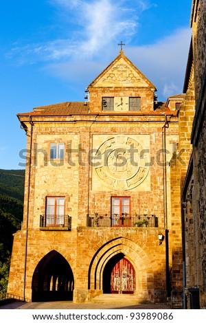 Nuestra Senora de Valvanera Monastery, La Rioja, Spain - stock photo