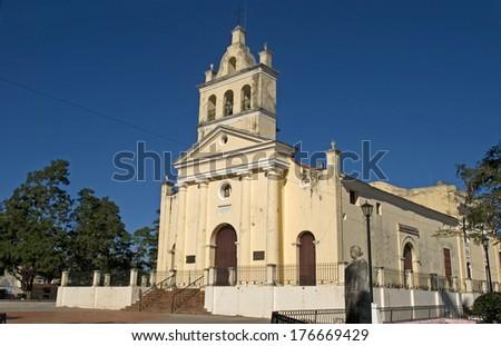 Nuestra Senora del Carmen Church, Santa Clara, Cuba - stock photo