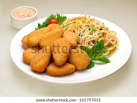 nugget - stock photo