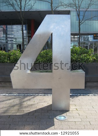 number four in cologne - stock photo