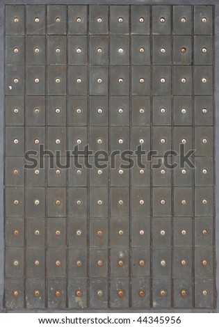 numbered cells - stock photo