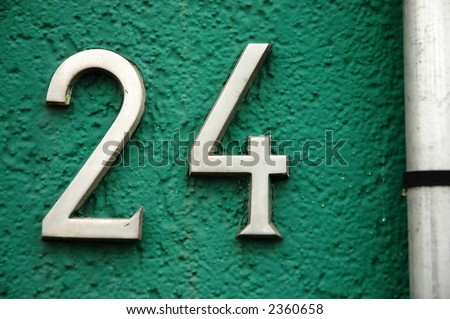 Numbers are fun! (serie, other available) - stock photo