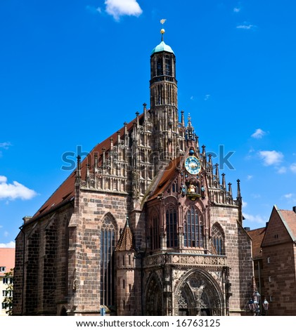 Nuremberg - Church of Our Lady - Frauenkirche