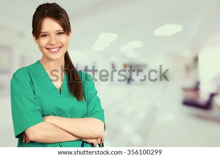 Nurse. - stock photo