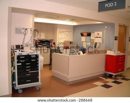 Nurses Station - stock photo