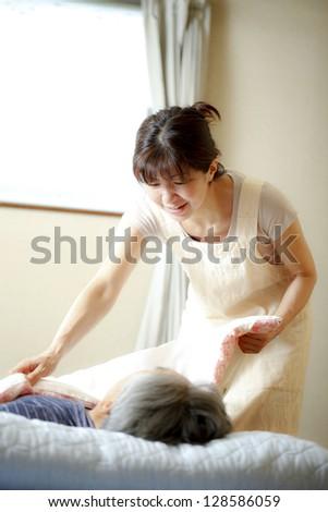 Nursing home - stock photo