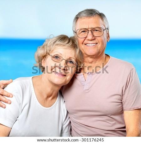 Nursing Home, Senior Adult, Old. - stock photo