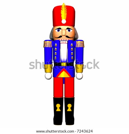 Nutcracker - stock photo