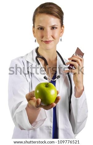 Nutritionist - stock photo