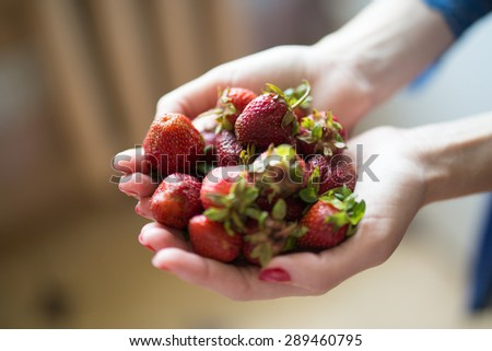 nutritious strawberry fruit, background of fresh strawberries