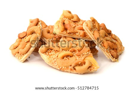 nuts-and-honey bars