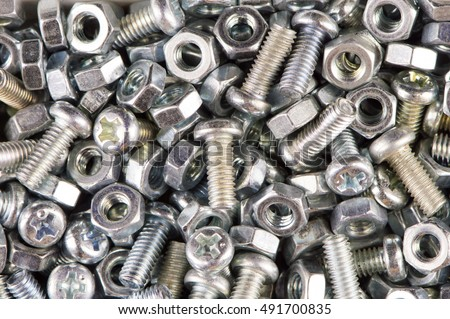 Nuts Bolts Background