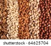 Nuts Mixed - stock photo
