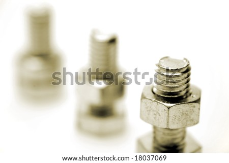 Nuts on bolts