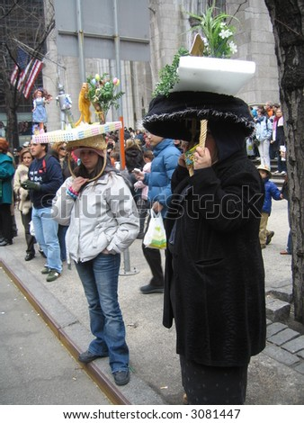 nyc easter parade 2007 - hats