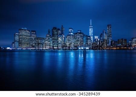 NYC manhattan - stock photo
