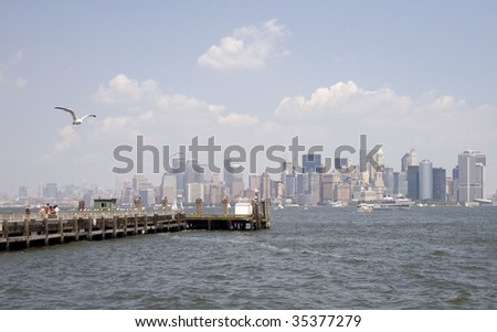 NYC Waterfront - stock photo