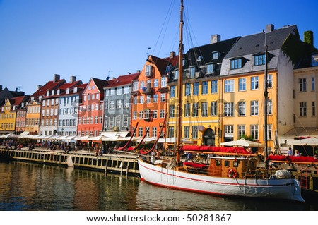 Nyhavn - stock photo