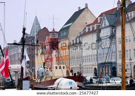 Nyhavn, Copenhagen - stock photo