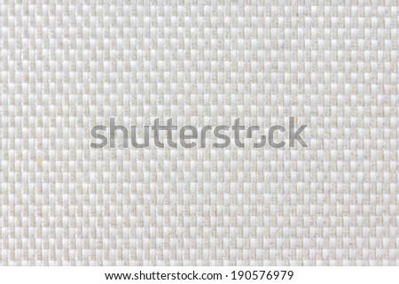 Nylon white macro texture pattern background - stock photo