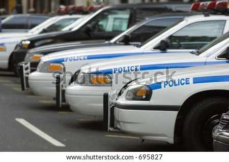 NYPD police station - stock photo