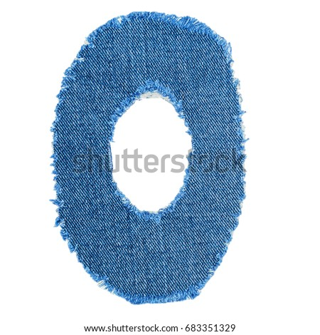 V letter cut denim fabric isolated stock photo 683351350 shutterstock o letter cut from denim fabric isolated on white background ripped torn denim jeans frame spiritdancerdesigns Images
