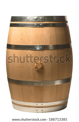 Oak barrel - Wine barrel