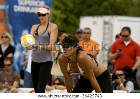 oak street beach chicago il august 29 kerri walsh l