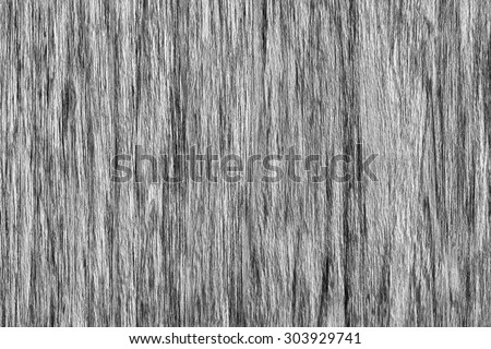 Oak Wood Veneer Bleached Dark Gray Grunge Texture Sample. - stock photo