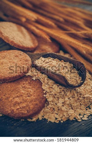 Oatmeal cookie-Filtered Images