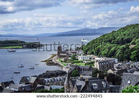 Oban, Scotland - stock photo