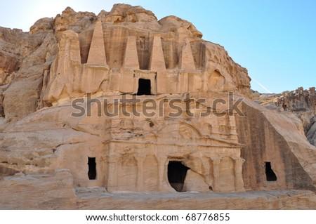 Obelisk Tombs - stock photo