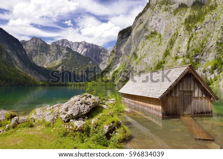 Obersee, Bavaria, Germany, 2nd August 2014