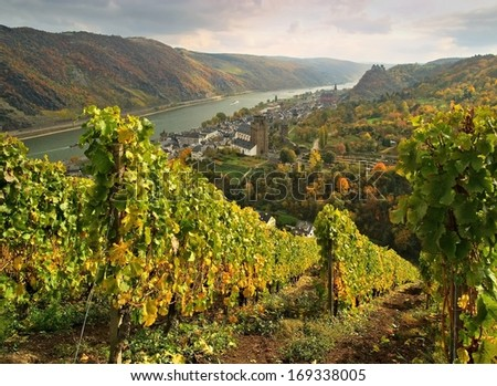Oberwesel  - stock photo