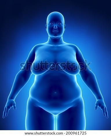Obesity concept    - stock photo