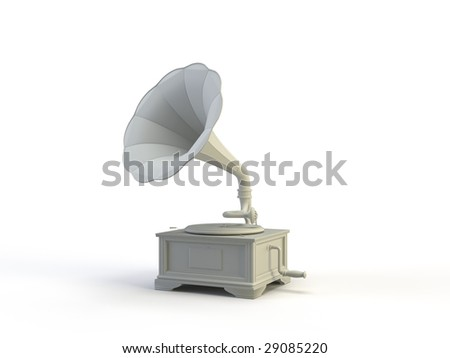 object on the white background