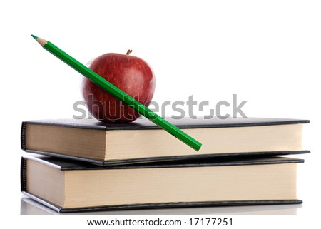 Objects from school- Back to School - stock photo
