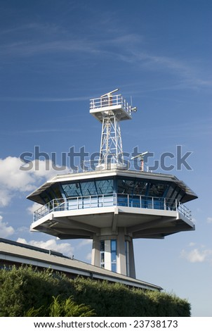observation tower - stock photo