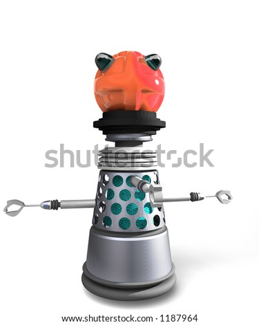 obsolete robot a 1960 s or 1970 s view of science fiction - stock photo