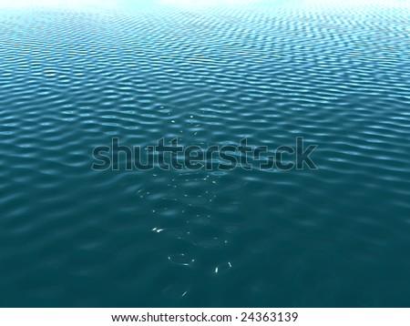 Ocean - stock photo