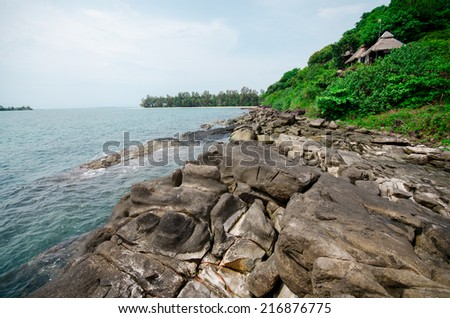 Ocean at Koh Kood, Thailand - stock photo