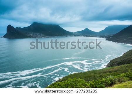 Ocean Bay, South Africa - stock photo