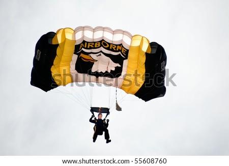 Army Parachute Clipart 5 Army Airborne Parachute