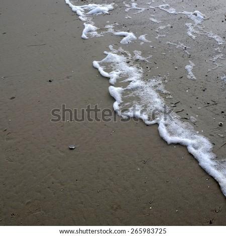 ocean foam 2 - stock photo