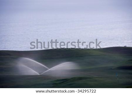Ocean Golf Course - stock photo
