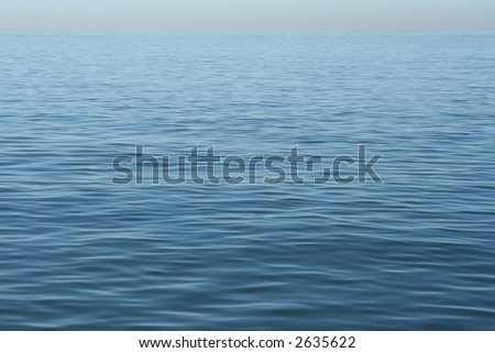 Ocean in mexico - stock photo